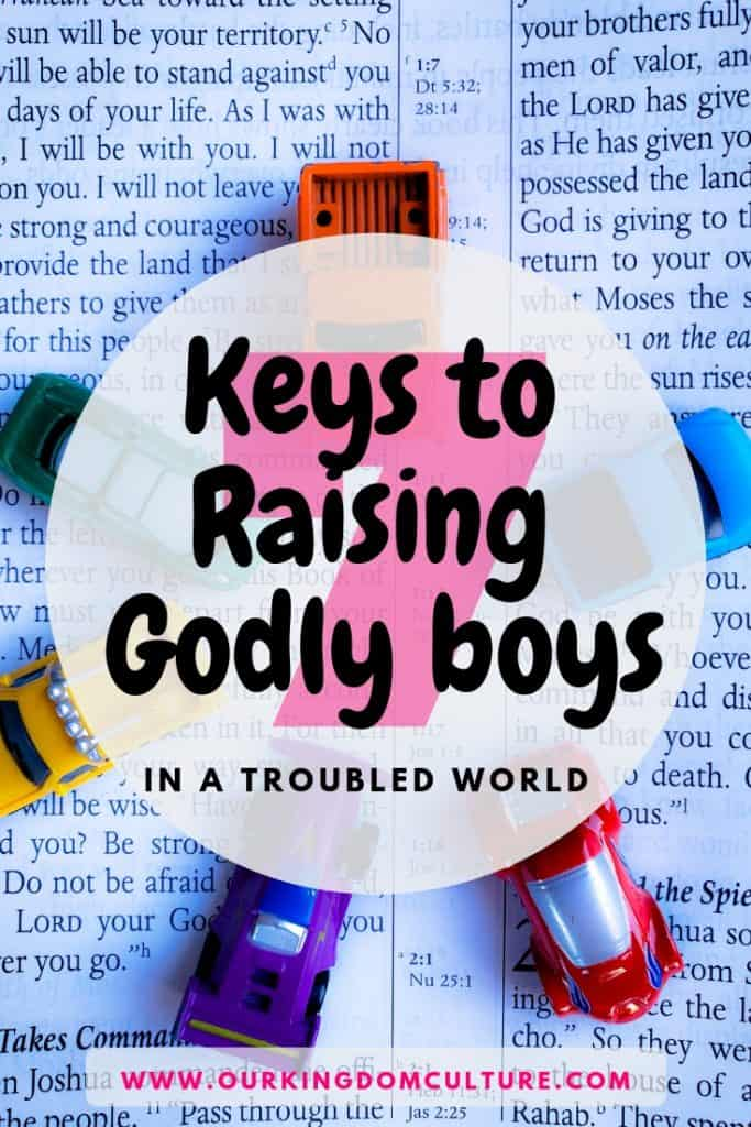 Keys to raising godly boys