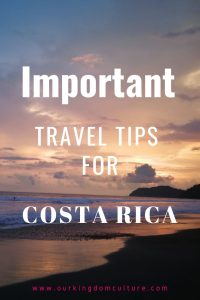 Tips for a vacation in Costa Rica