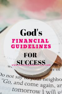 Financial Guidelines for Christians