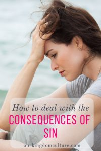 How to deal with the consequences of sin