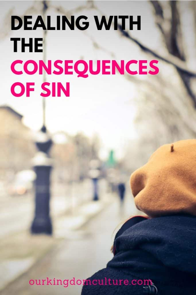 Dealing with the consequences of sin