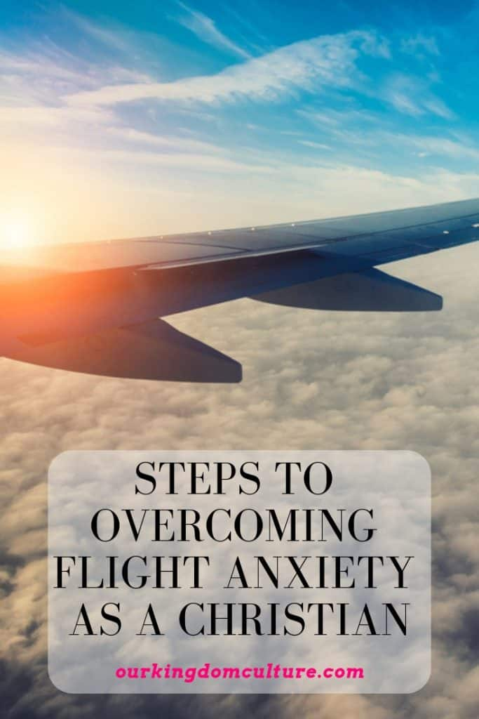 Christians overcoming flight anxiety