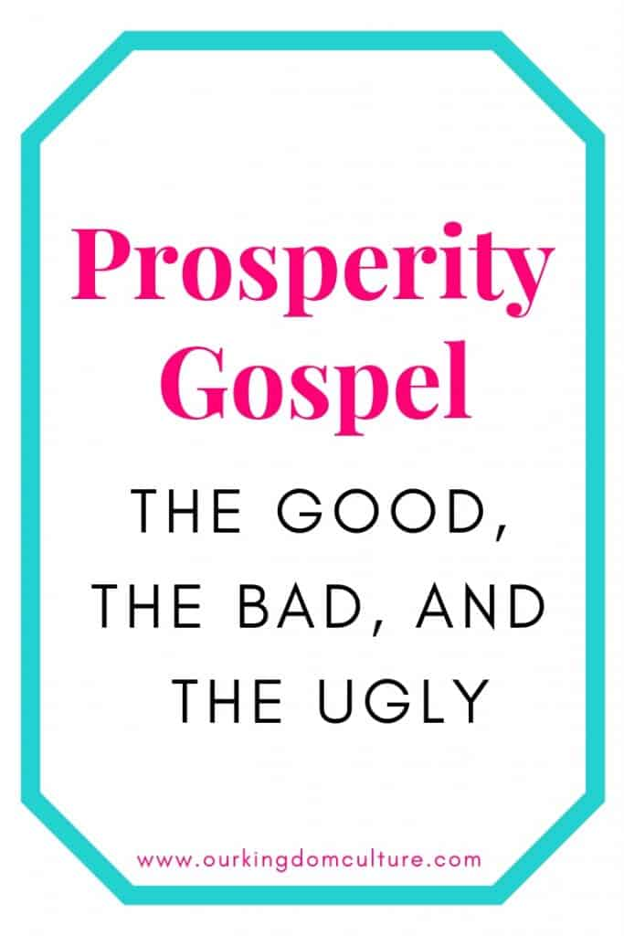 The Truth About Prosperity Gospel