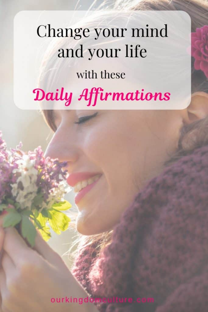 Speak life over yourself with these daily affirmations.