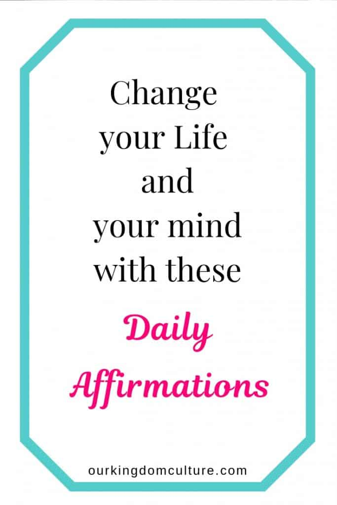 Biblical Affirmations and Declarations to change your life.