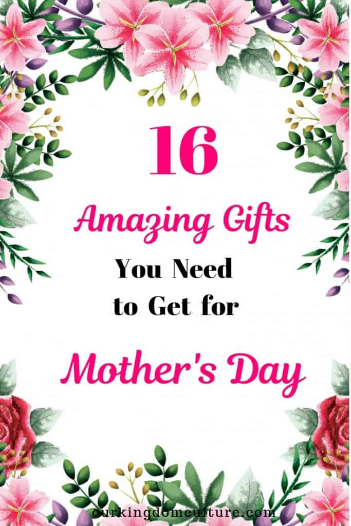 Inside this Mother's Day Gift Guide you will find the perfect present for your mom.
