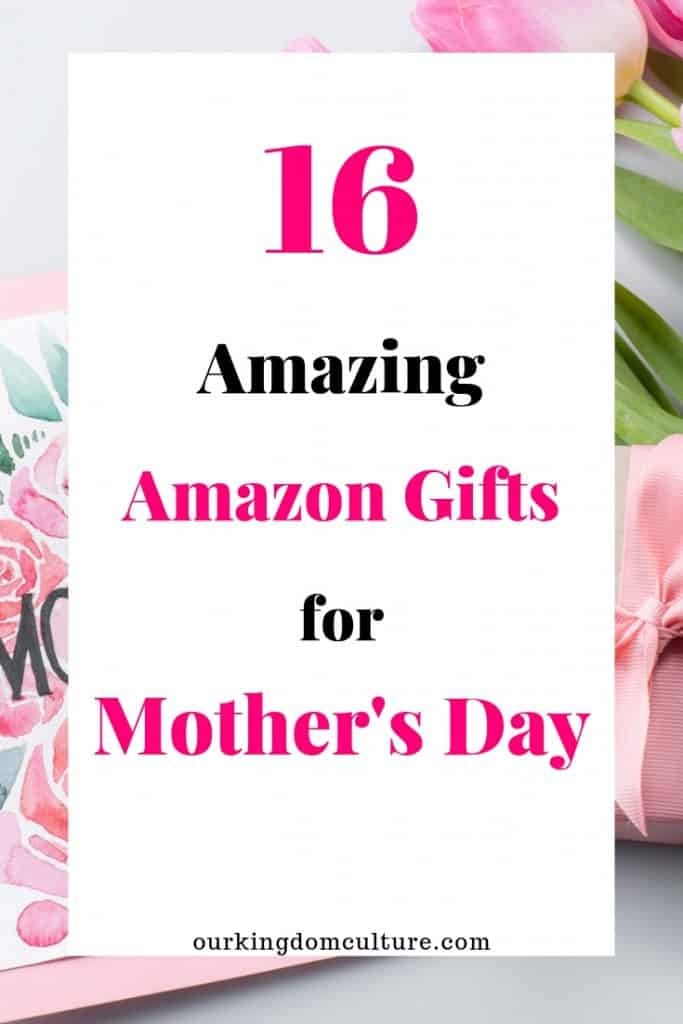 Beautiful gifts for Mother's Day from Amazon. Special gifts that will make your mom happy.