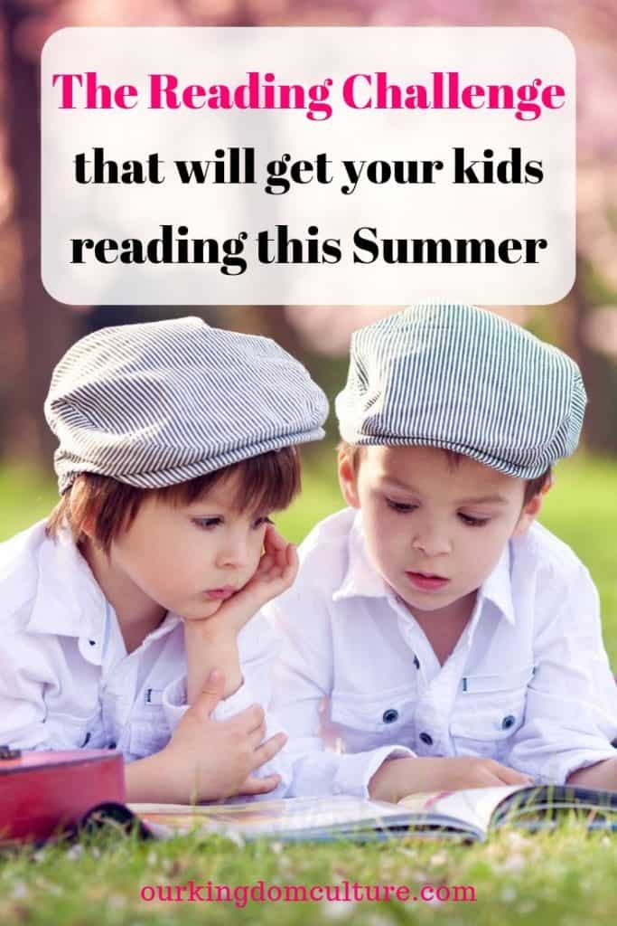 Check out The Summer Reading Challenge and Books that will get your kids reading on their own!