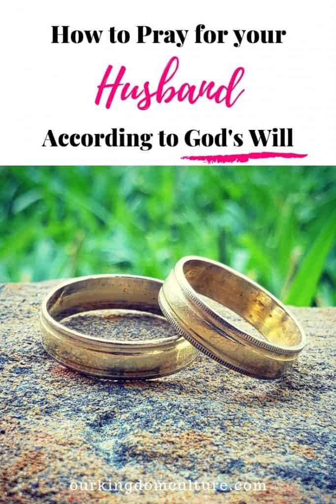 Learn how to pray for your husband so he can become the man God wants him to be. This post will bless your marriage