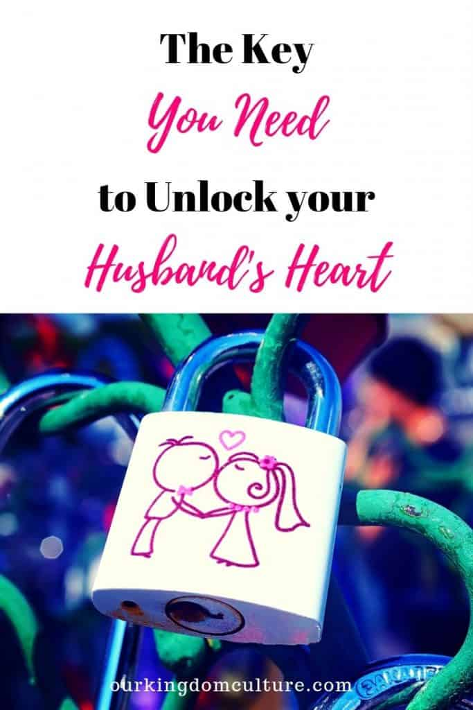 You can have a happy marriage, all you need is the key to unlock your husband's heart