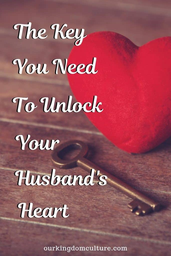 Do you know what is your husband's #1 need? Do you know the key to unlock your husband's heart and have a happy marriage?