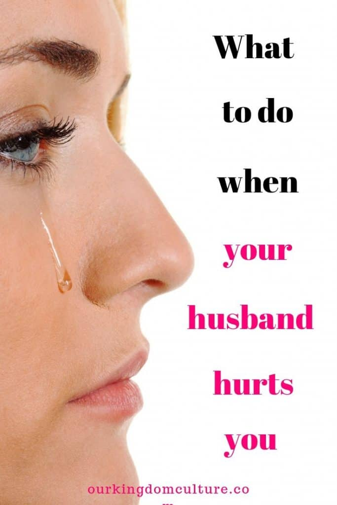 The ups and downs of marriages. Learn how to deal with marriage problems. What to do when your husbands hurts you.