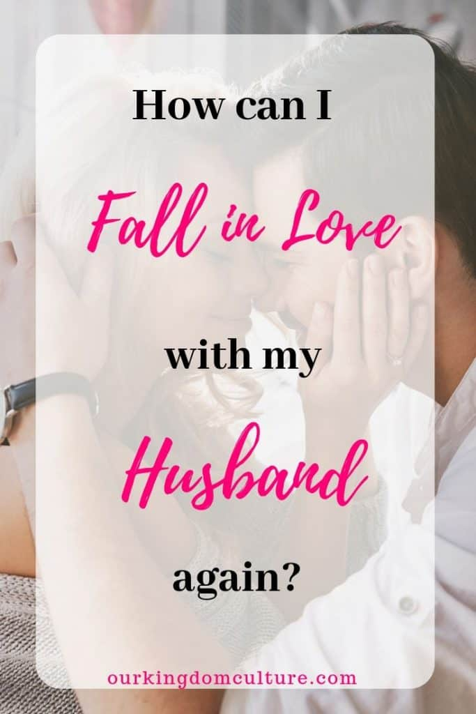 Is it possible to fall in love with our husbands again? There answer is yes. Even if you have gone through lots of marriage problems your love can be strong again! Here are 20 steps that will teach you how.