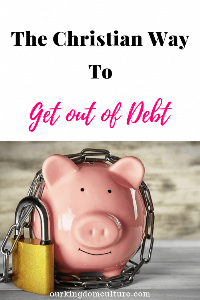 These 9 steps will help you get out of debt the christian way. You can start the journey to financial freedom now. #getoutofdebt, #financialfreedom, #finances