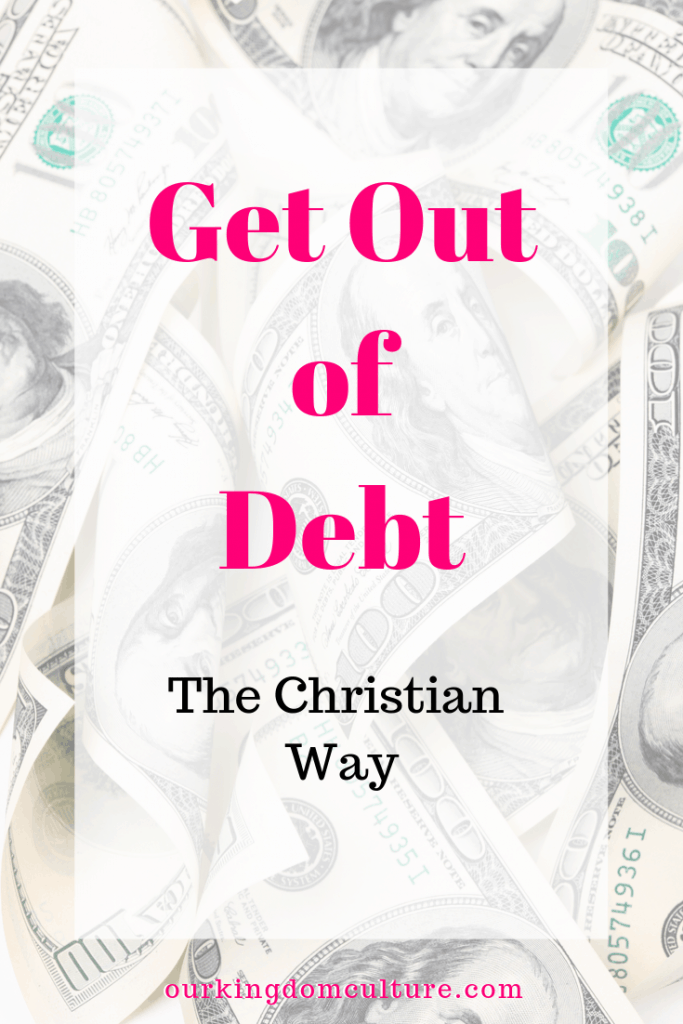 It is not God's will for you to live bound by the chains to debt and worry. These 9 steps will help you get out of debt the Christian way.