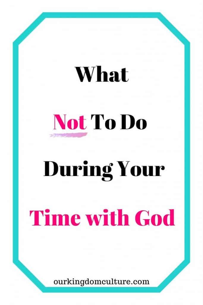If God is your priority, you should make the time you spend with Him a priority too. #devotional, #biblestudy, #spendingtimewithGod