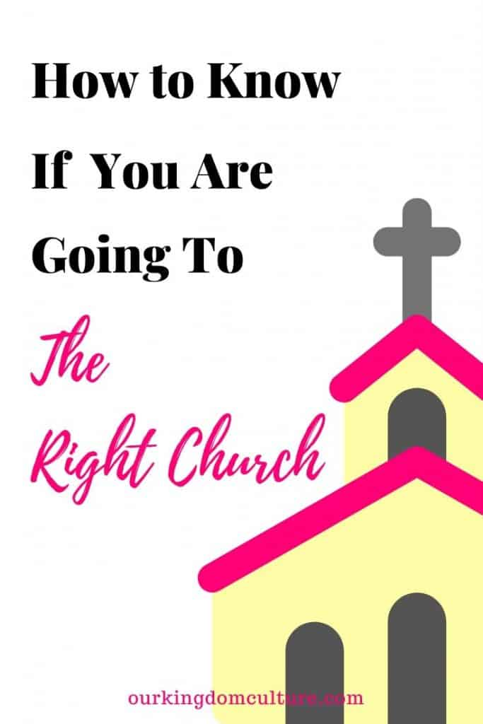 Are you in the church that God called you to be? God has a place for you and your family this post will help you find the right place for you. #christianliving, #church