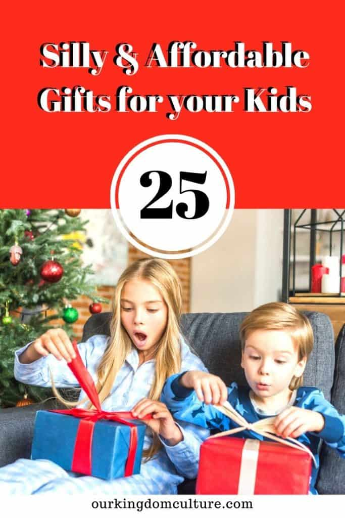 Christmas time it's here, time to find the silliest and funnest gifts out there for your kids