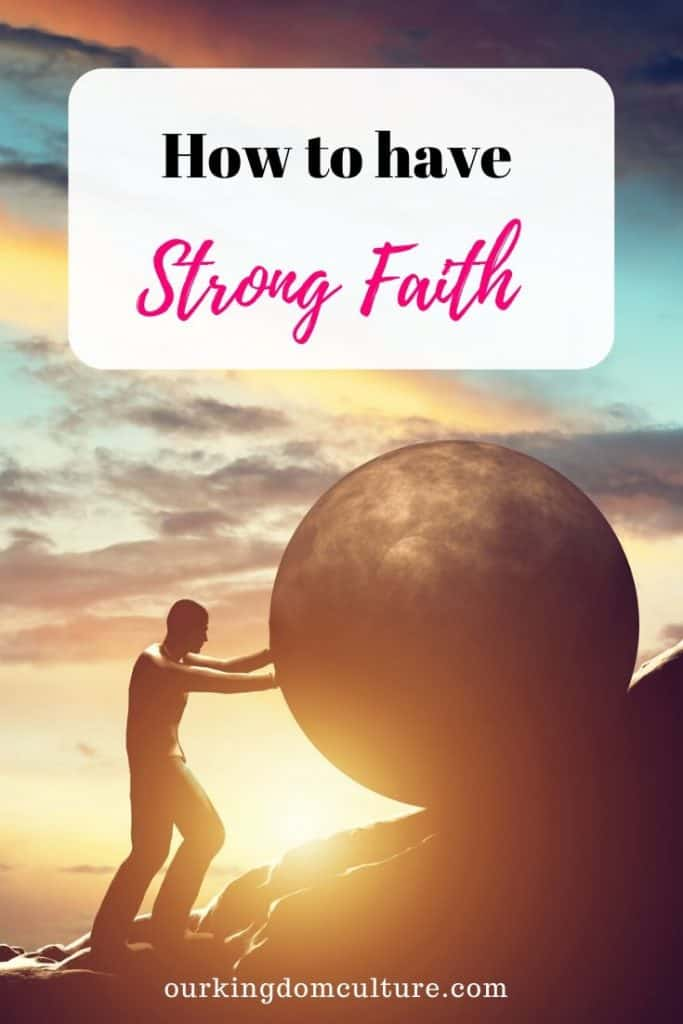Without faith it is impossible to please God. Learn a few steps that will help you to be strong in faith.