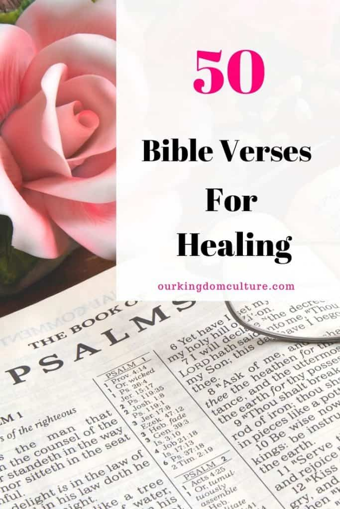 These Bible verses for healing will encourage you and they will remind you of all the promises of God. Read them, speak them and meditate on them. #bibleverses, #healing, #faith, #bibleversesforhealing