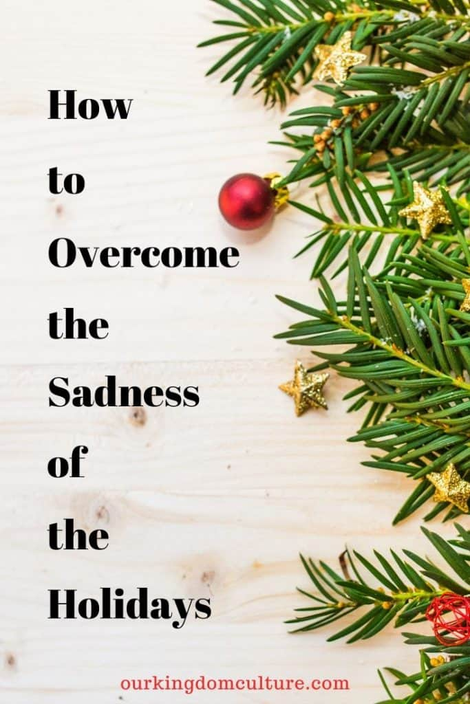 These 7 steps will help you overcome the sadness of the holiday season.#christmas. #holidaydepression, #holidayblues, #christmasblues