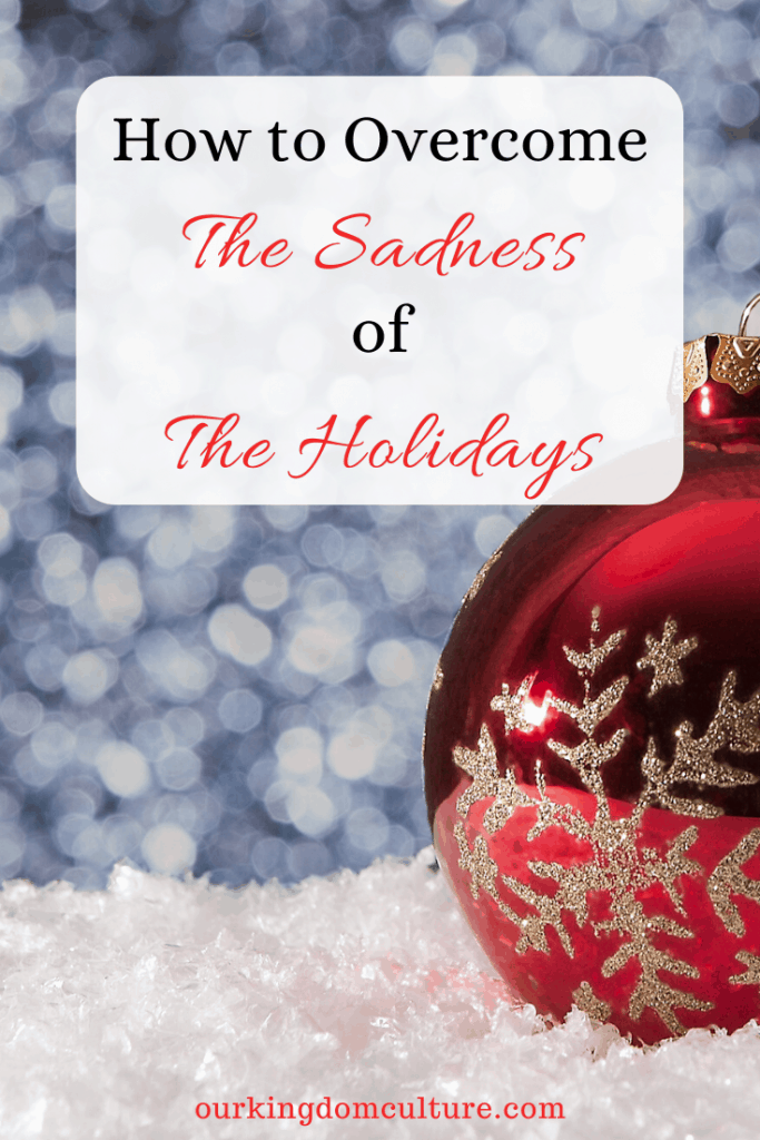 How can I enjoy the holidays when I feel so sad, so depressed? These 7 steps will help you overcome the sadness of the holiday season. #christmas, #holidayblues, #christmasdepression