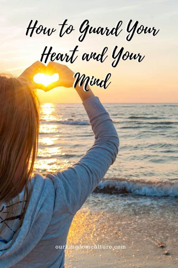 Learn how to guard your heart and your mind with 5 steps. According to the Bible, your heart is one of the most valuable things you have. #heartanfmind, #christianliving, #faith