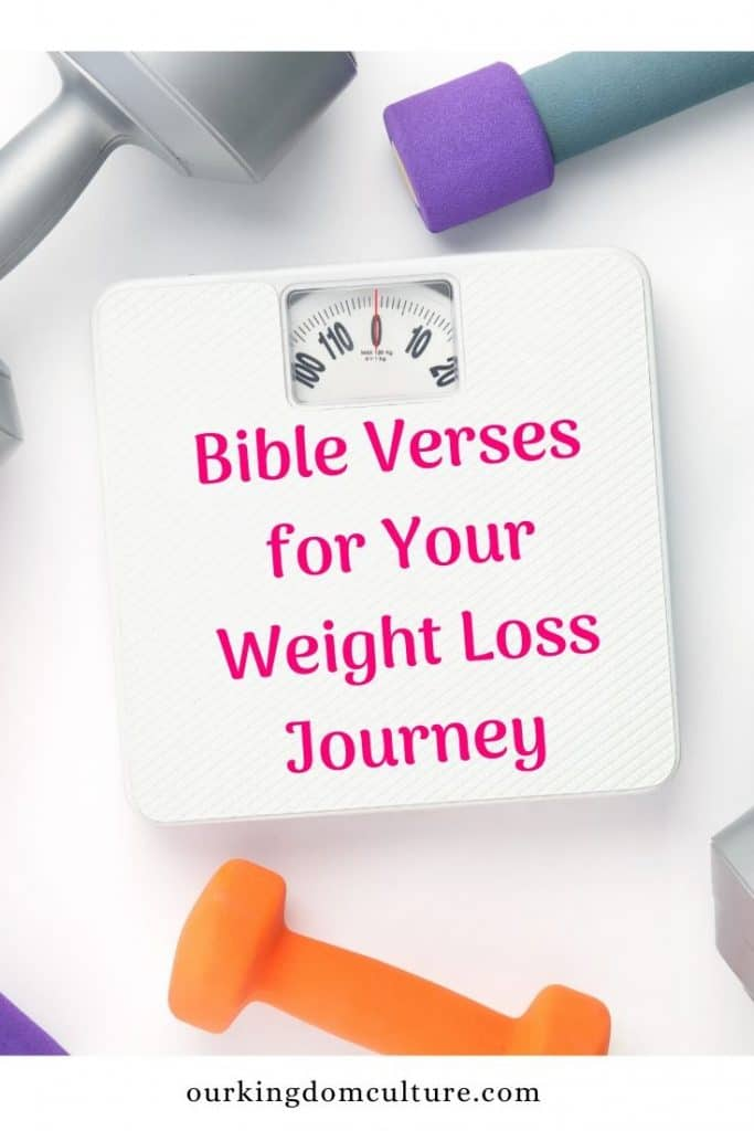 17 Bible verses that will encourage you on your weight loss journey. The Bible can help you loss weight and stay on track.