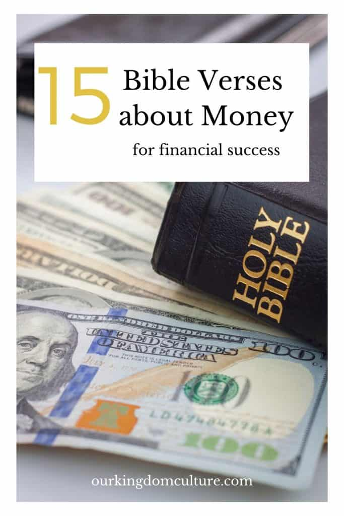 These Bible verses about money will set you up for financial success. the advice is taken from the greatest financial advisor that exists. #finances, #personalfinances, #bibleversesaboutmoney