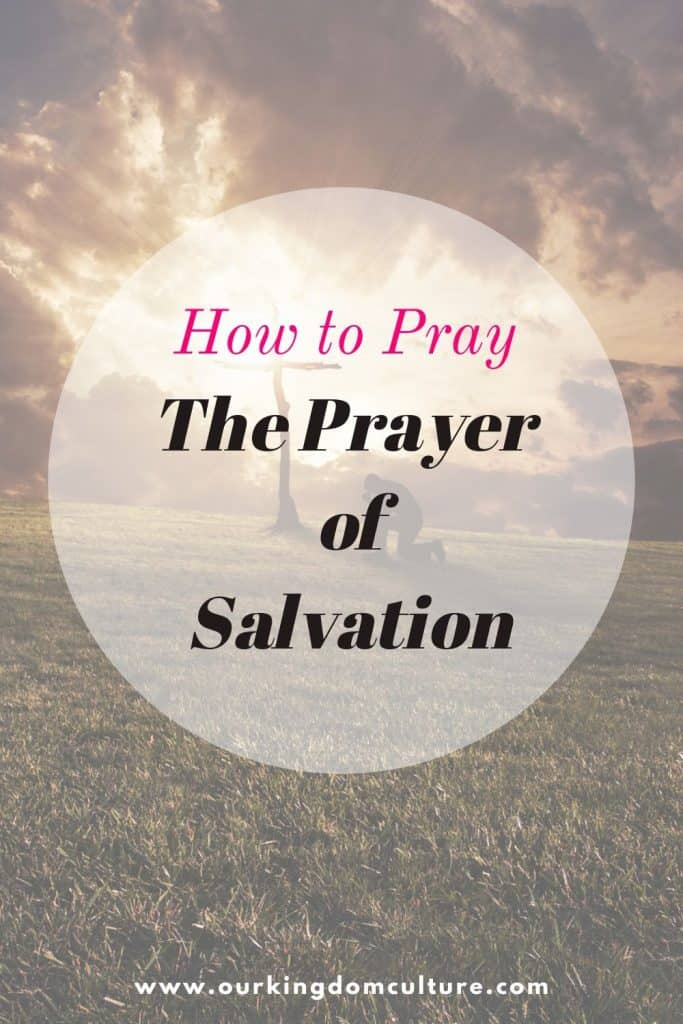 Learn what is and how to pray The Sinner's prayer. This is the prayer that can change your life and your eternity forever. #prayer, #salvationprayer, #christian