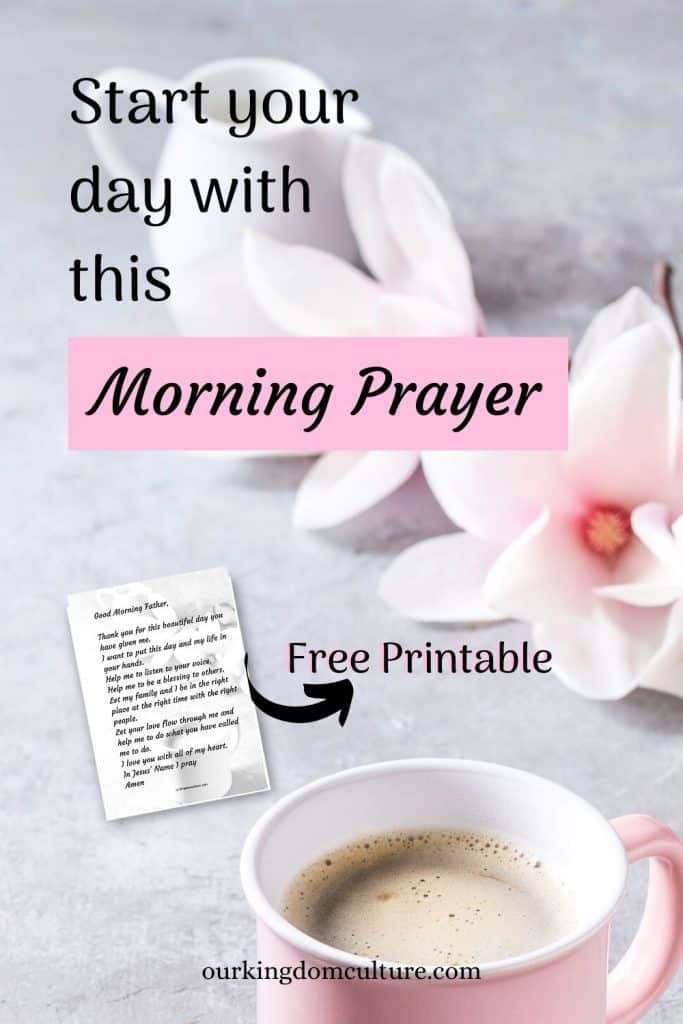 Start your day with this powerful morning prayer guide #morningprayer, #prayer, #christianliving