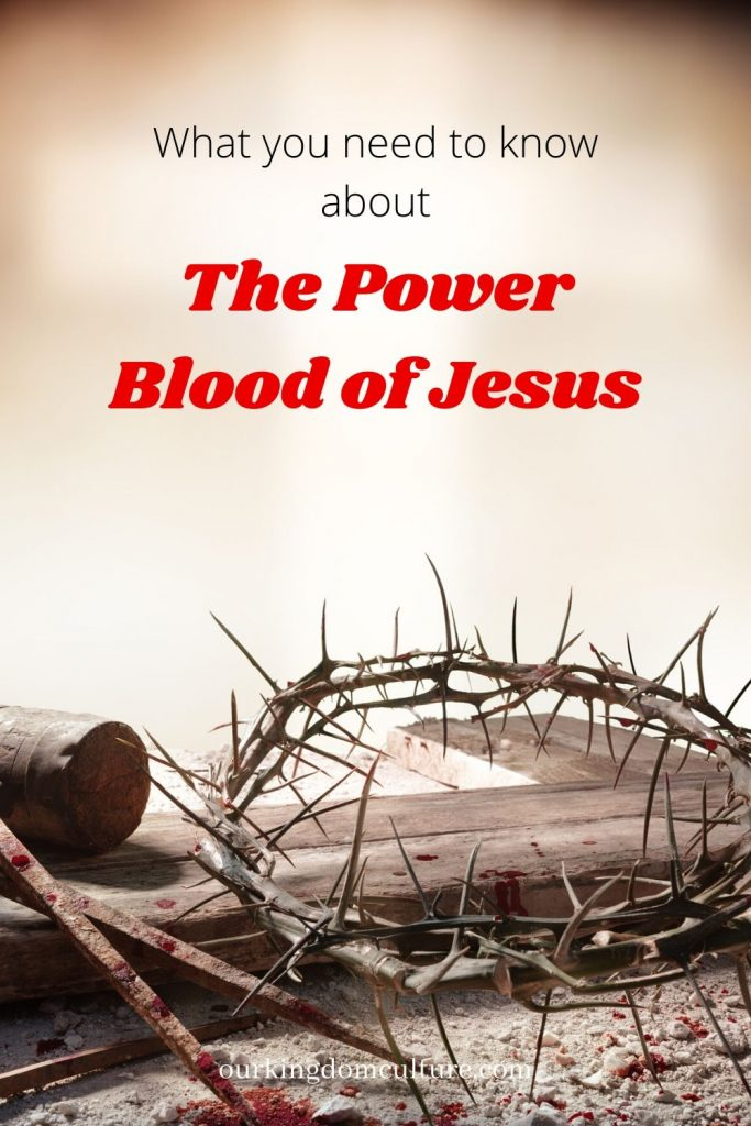 It is time for us to know the importance of the Blood of Jesus and how to use it.