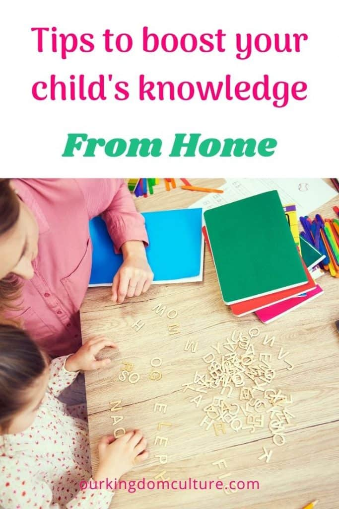 Tips and resources that will help you boost your child's knowledge from home