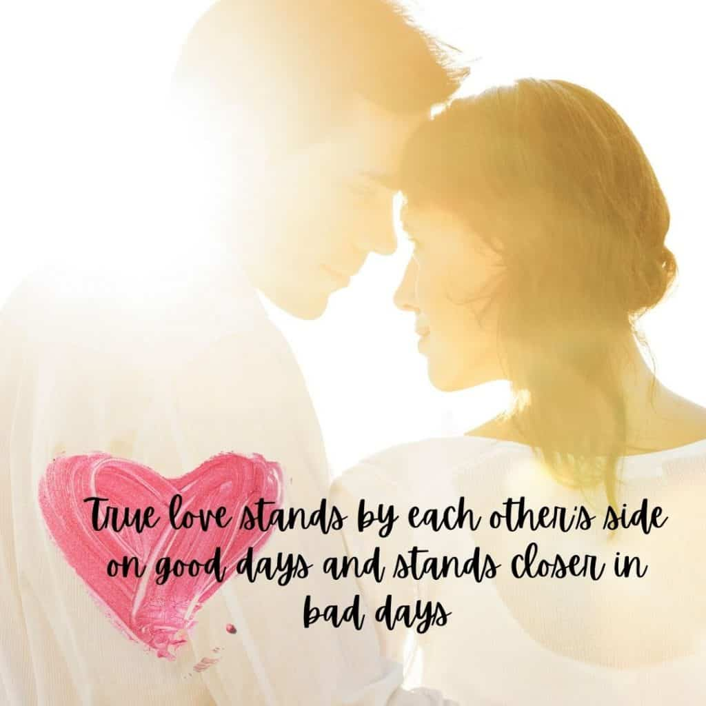 Love in  marriage quote