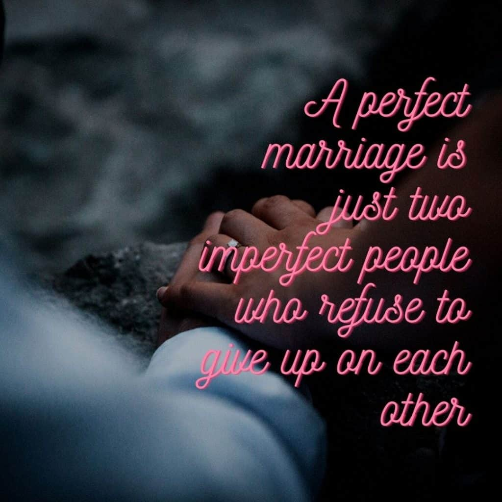 A key to a successful marriage