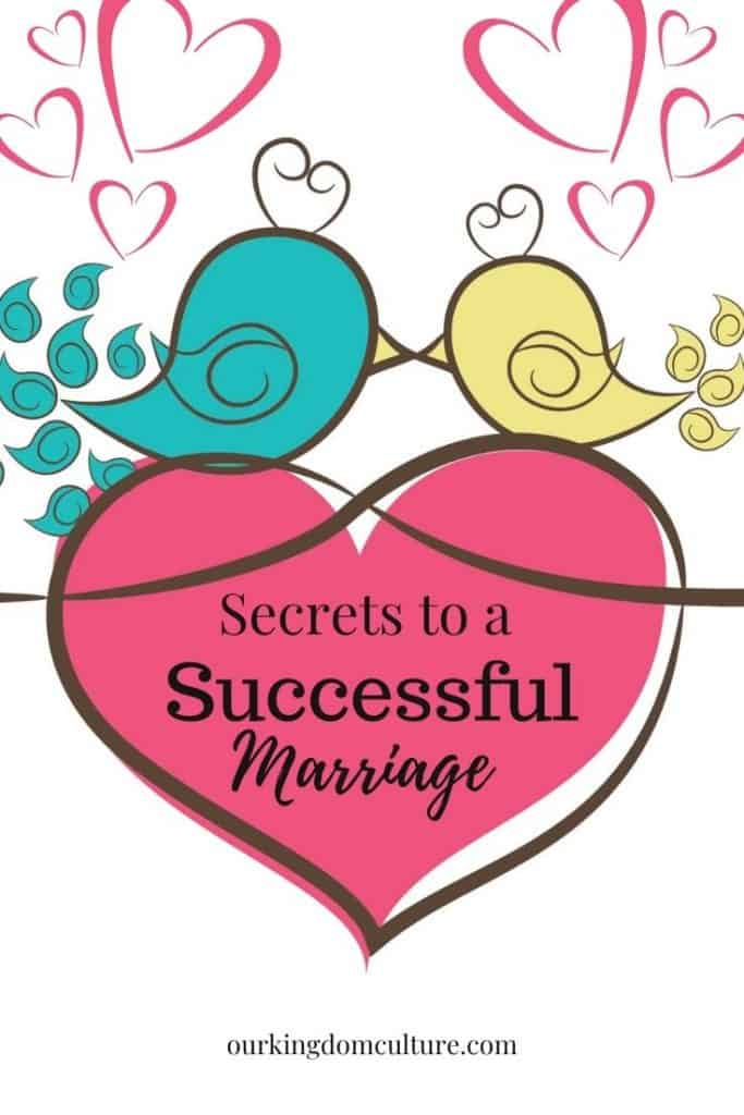 Secrets to a successful marriage