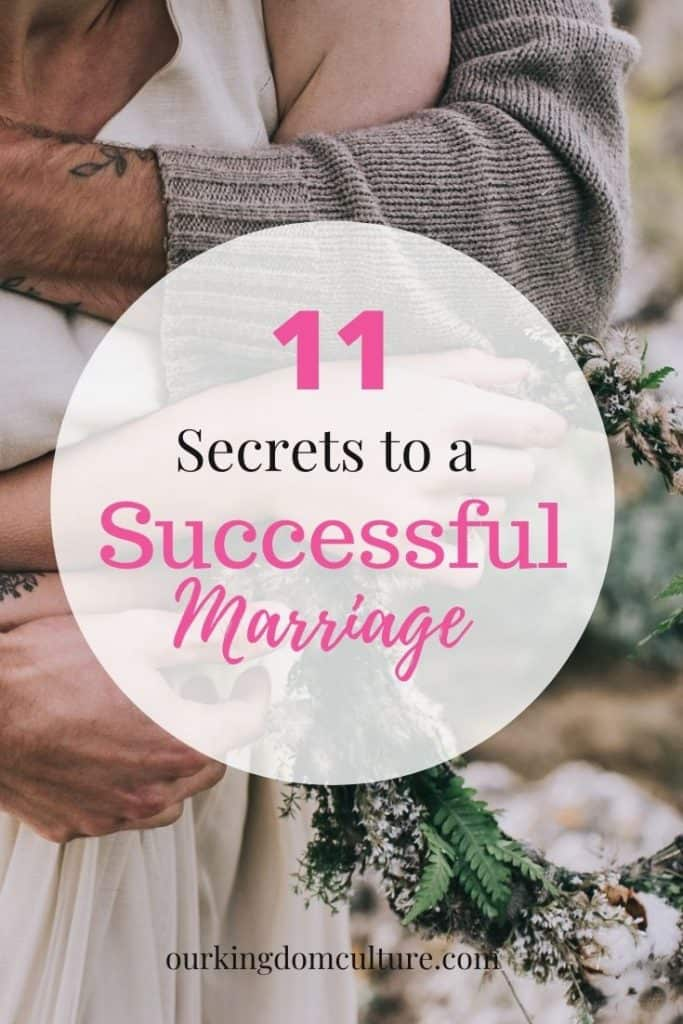 Secrets to a happy, healthy and successful marriage